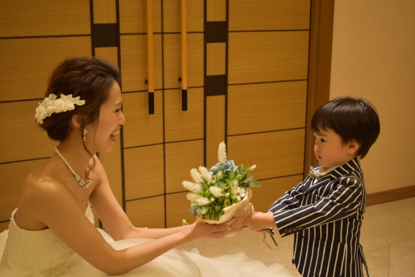 パパママキッズ婚を応援♡お子様が主役のパーティー演出♬