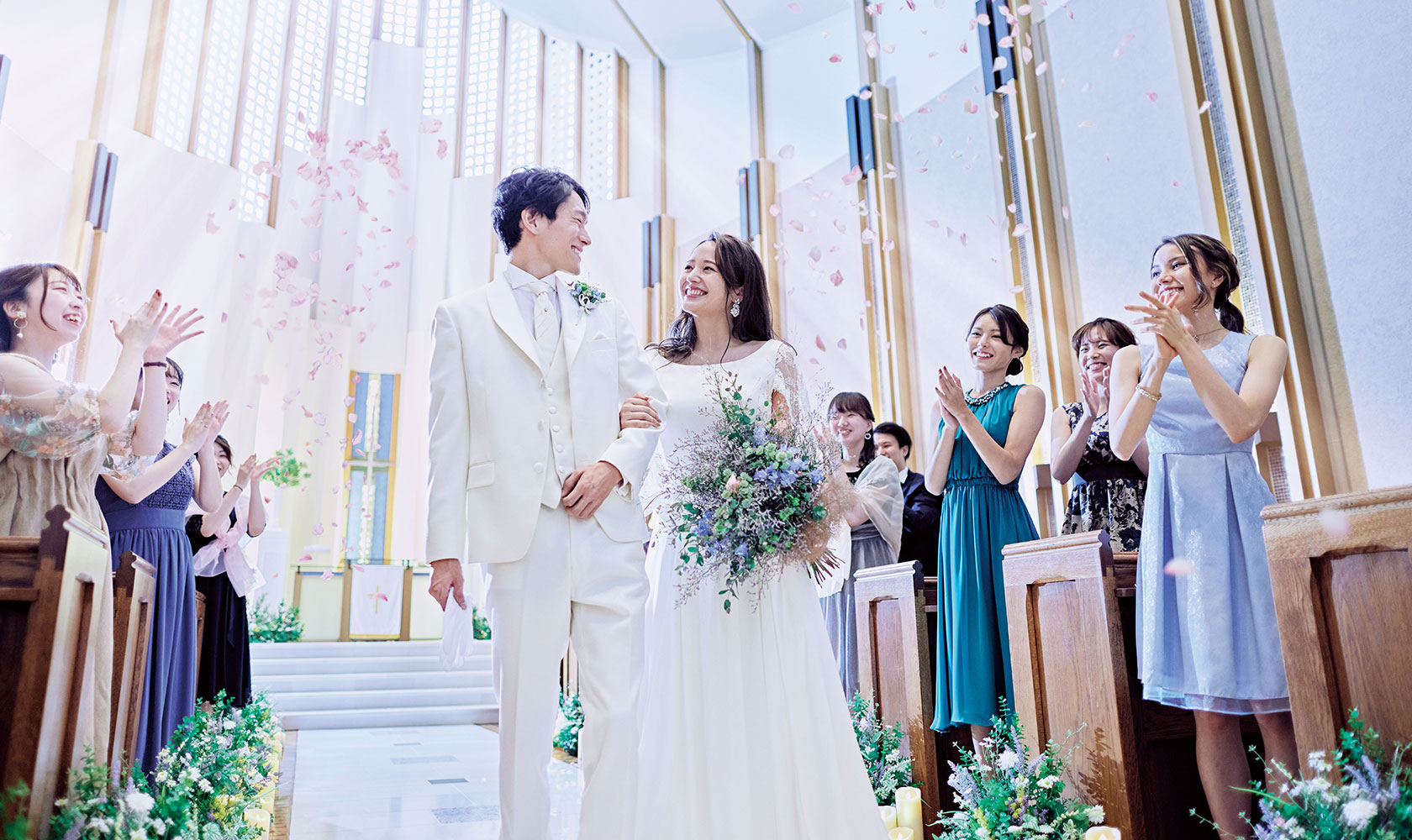 BERNARD TSURUOKA STYLISH MODERN WEDDING